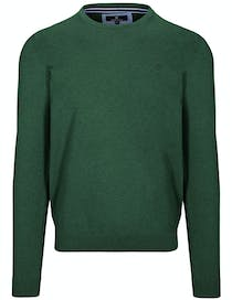 Pullover - STEFAN mit meliertem Design - Jungle Green