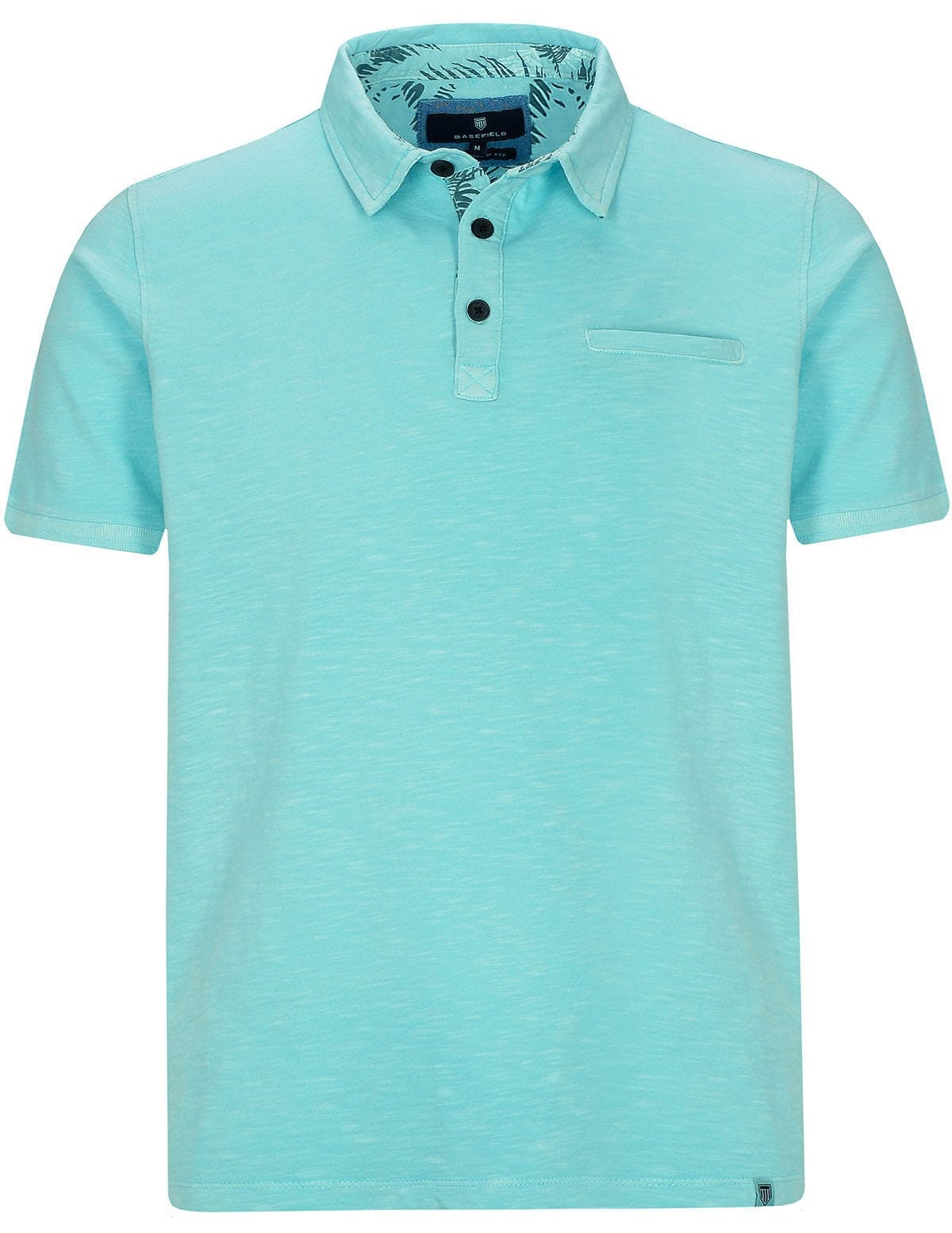 Poloshirt 1/2 Arm - Light Ocean