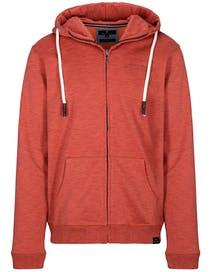 Hoodie Sweatjacke - Light Brick