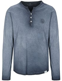 Henley Shirt - Night Blue