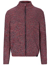 Stehbund Strickjacke - Red