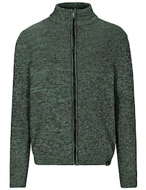 Stehbund Strickjacke - Winter Sea