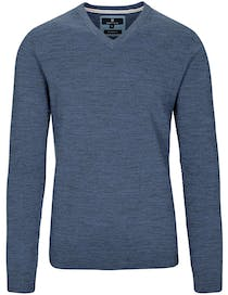 V-Pullover MODERN FIT - Deep Blue