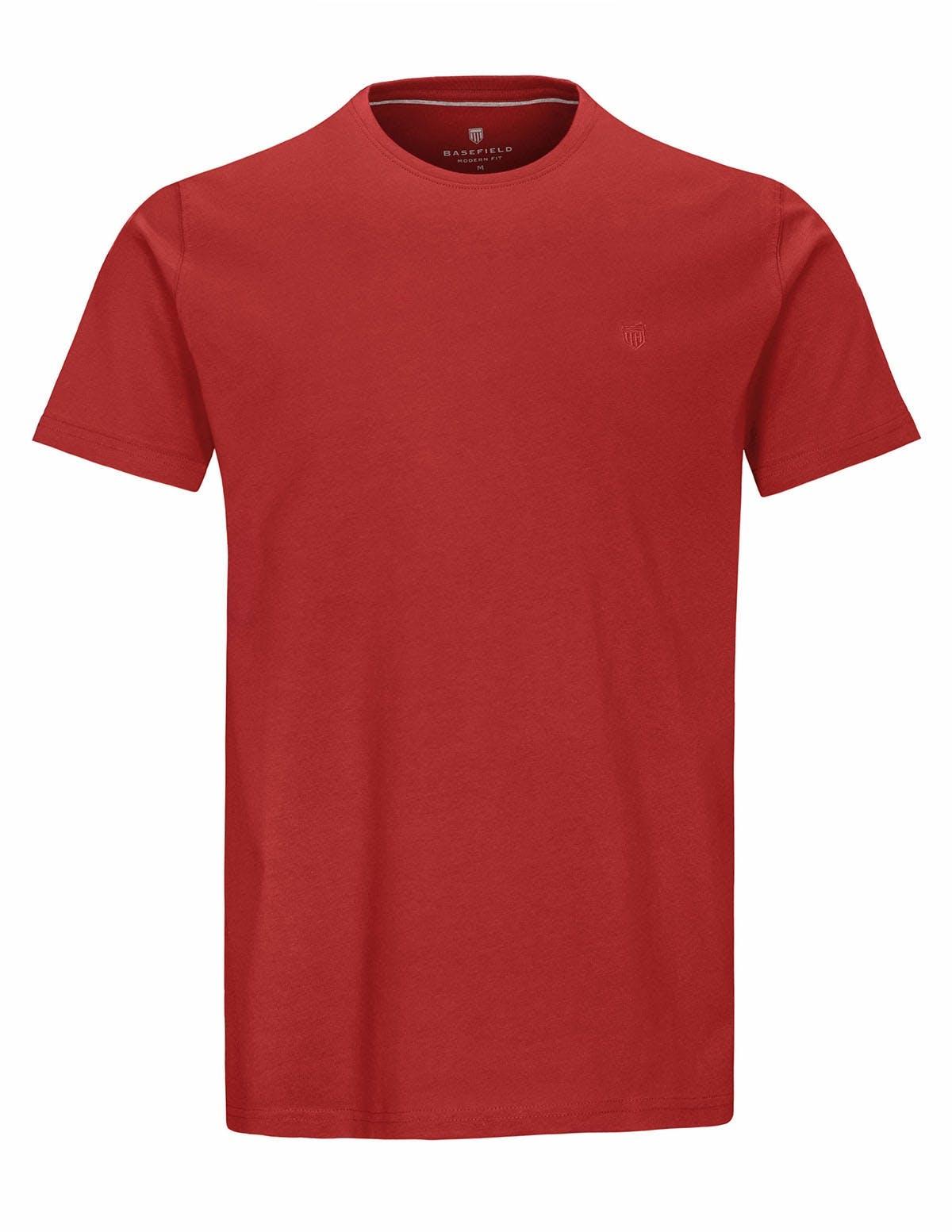 T-Shirt Rundhals - Red