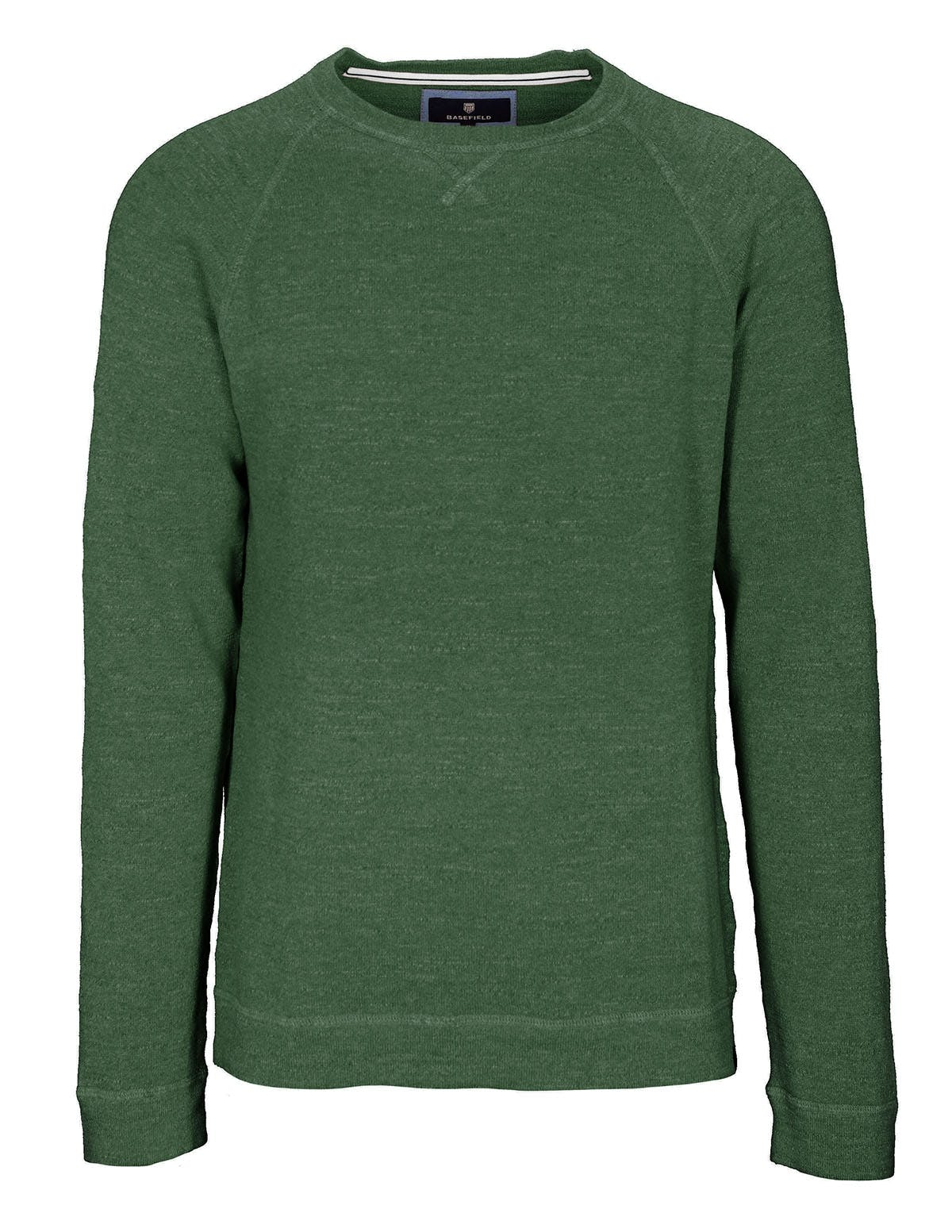 ORGANIC COTTON Pullover - Palm Green