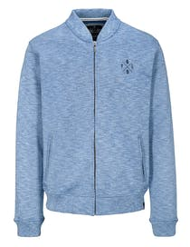 Sweat-Cardigan - Deep Blue