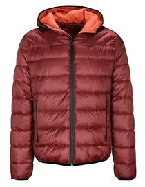 Recycelte Puffer Jacket - Pepper