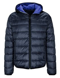 Recycelte Puffer Jacket - Blue Navy