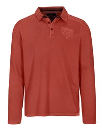 ORGANIC COTTON Polo Shirt 1/1 - Picante