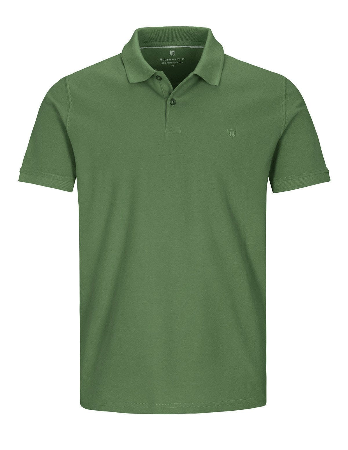 ORGANIC COTTON Polo Pique - Olive