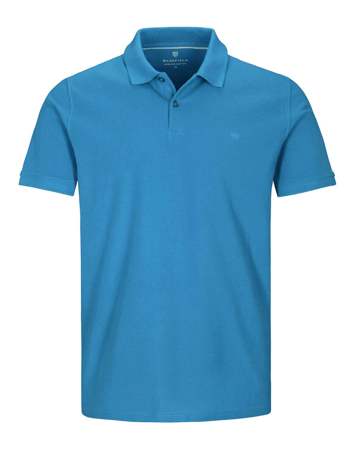 ORGANIC COTTON Polo Pique - Pacific