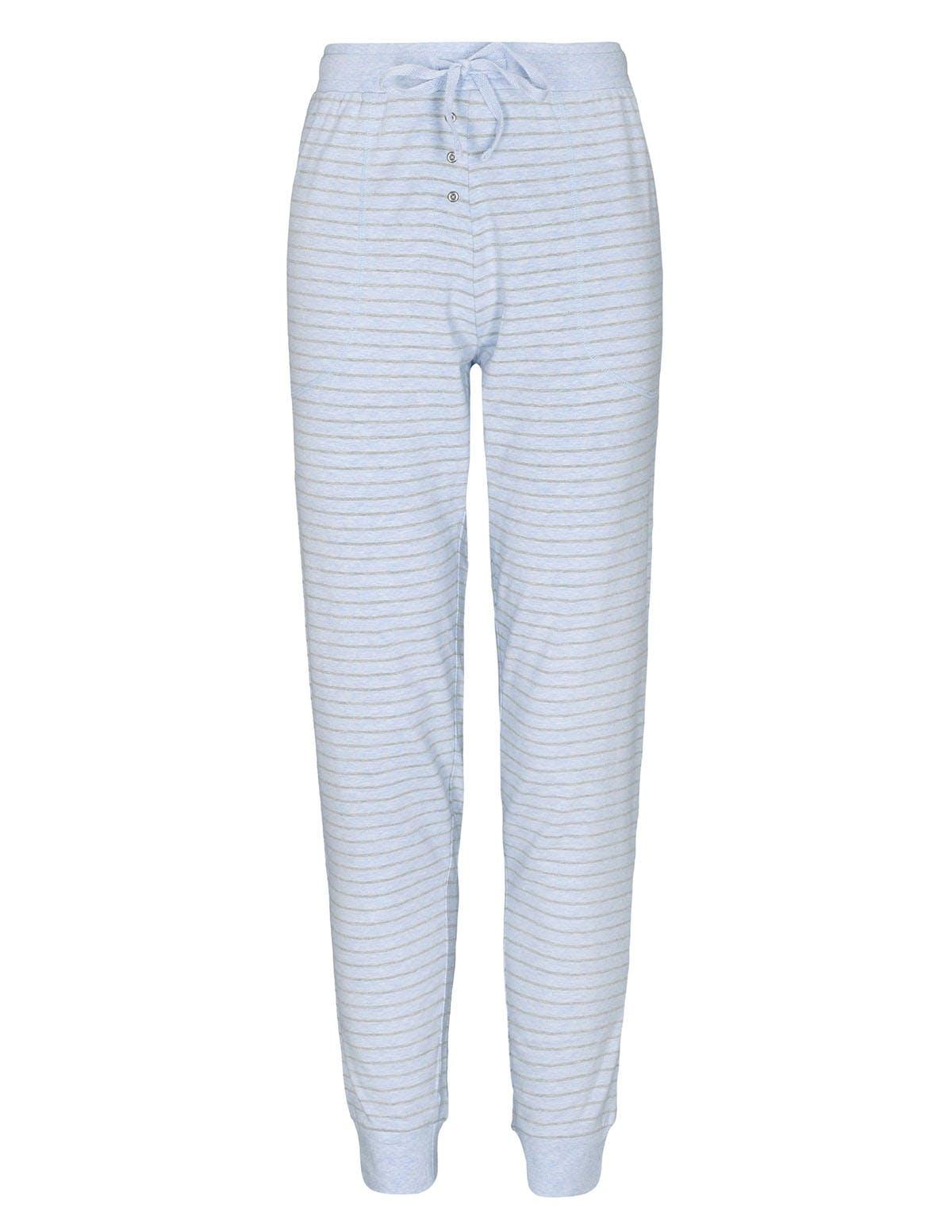 HOMEWEAR Hose im Streifen-Design - Bleu