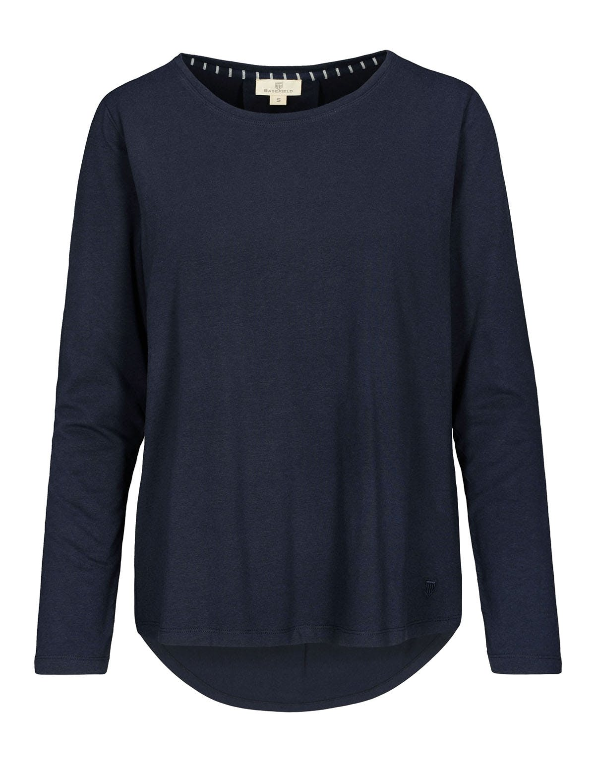HOMEWARE Langarmshirt - Navy