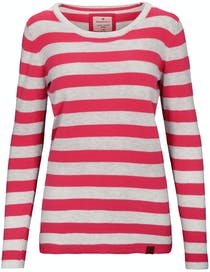 BASEFIELD Ringel Pullover DIANA - Pink Kiss Cool