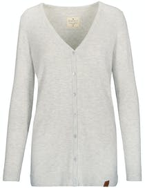 Strickjacke EVELINE - Cool Grey Melange