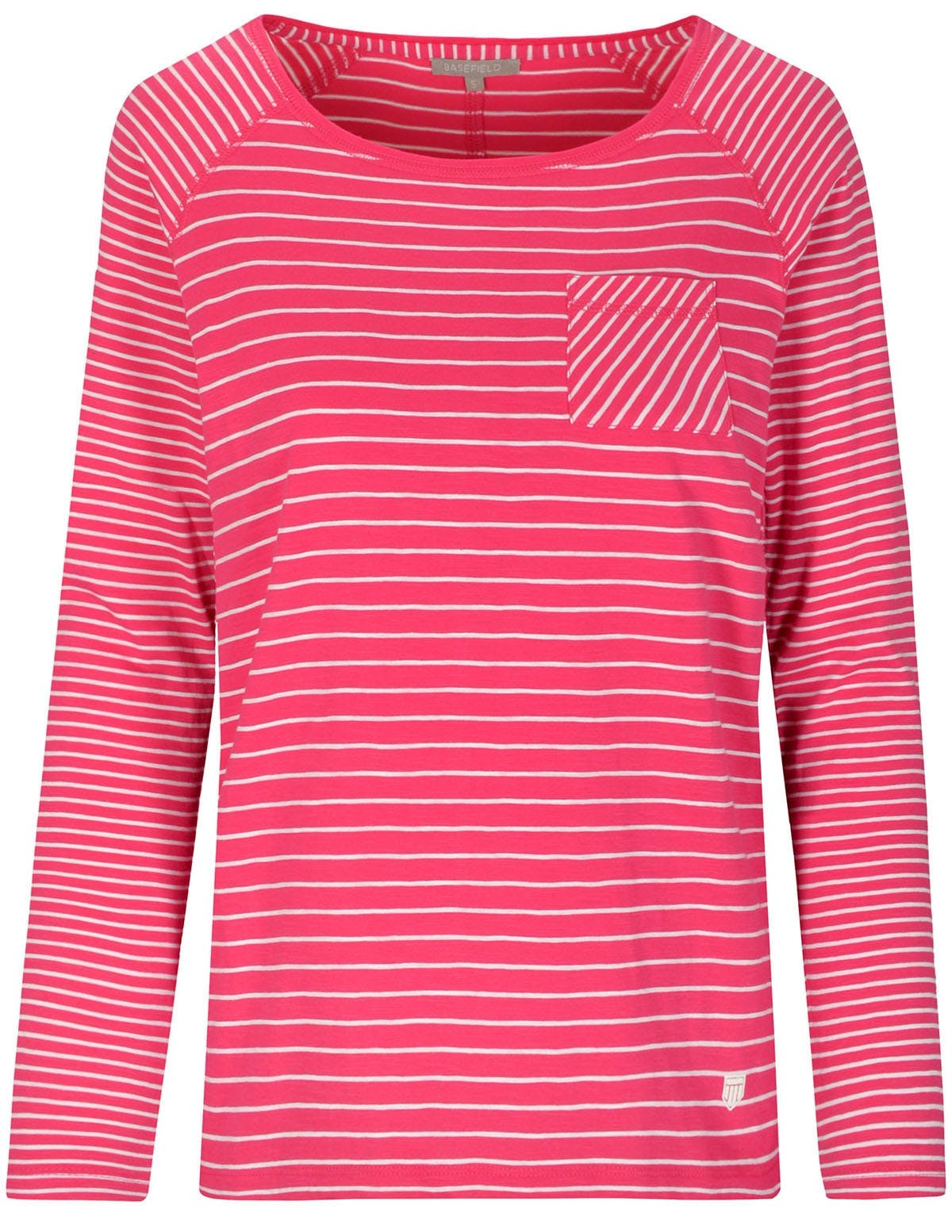 Streifenshirt ANDREA - Power Fuchsia