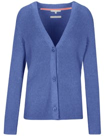 Strickjacke CHARLOTTE - River Blue
