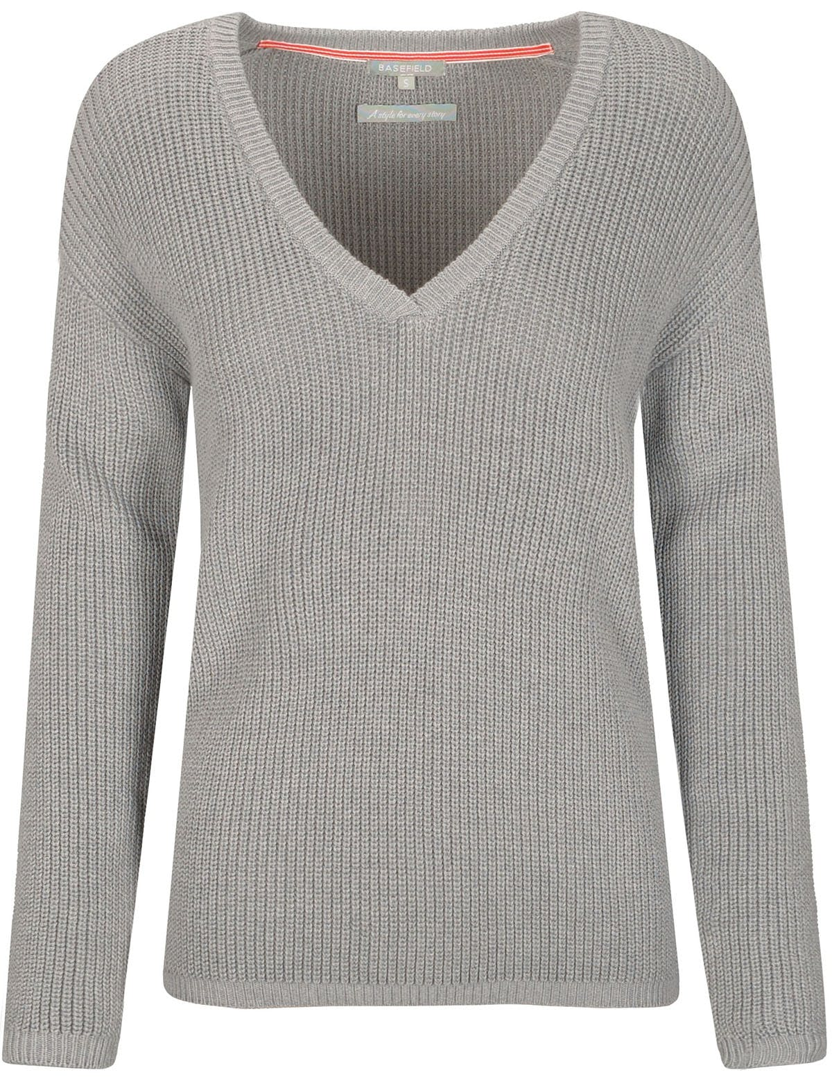 Pullover CHARLY - Silvergrey Melange