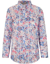 Bluse INES - River Blue Print
