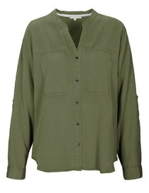 Bluse Sportiv Tencel ™ - Olive Night