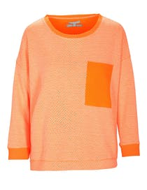 Sweatshirt Neon - Power Tangarine