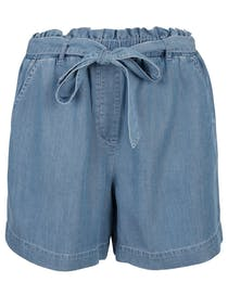 Shorts Tencel Denim Optik - River Blue