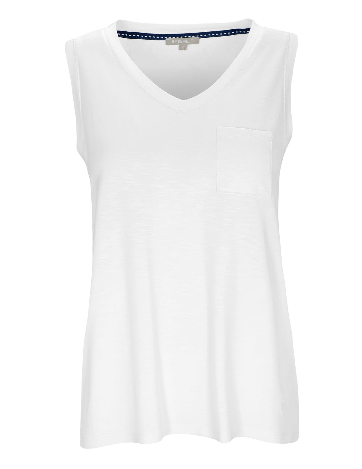 Top Jersey - Bright White