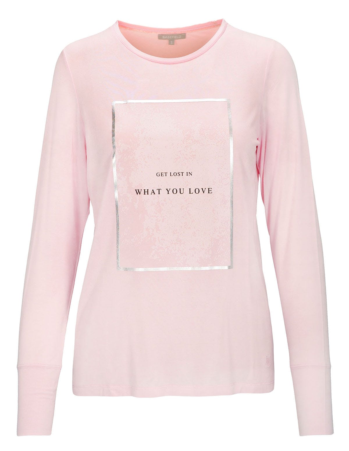 T-Shirt - NELLE mit Front-Print - Orchid Pink