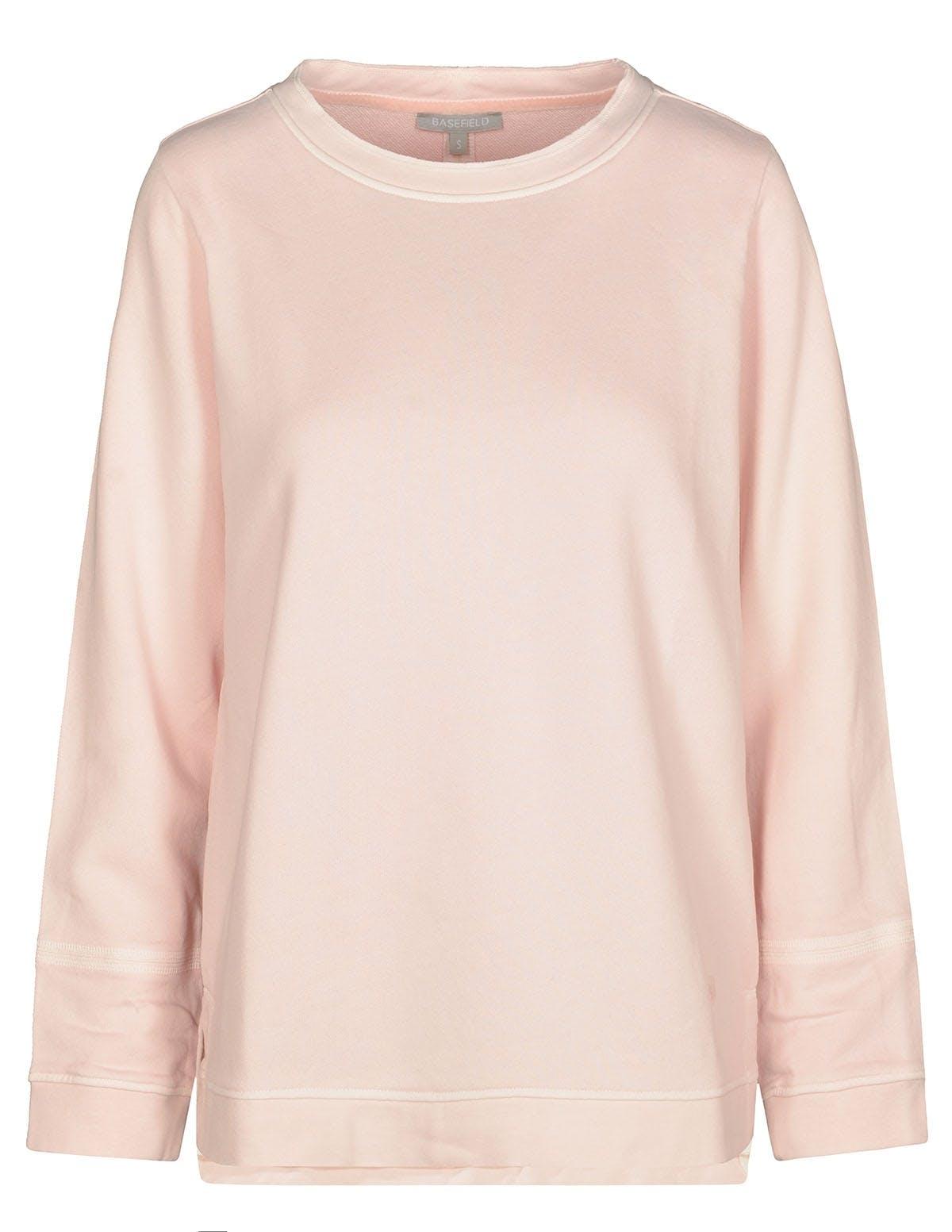 ORGANIC COTTON Sweatshirt washed - Orchid Pink