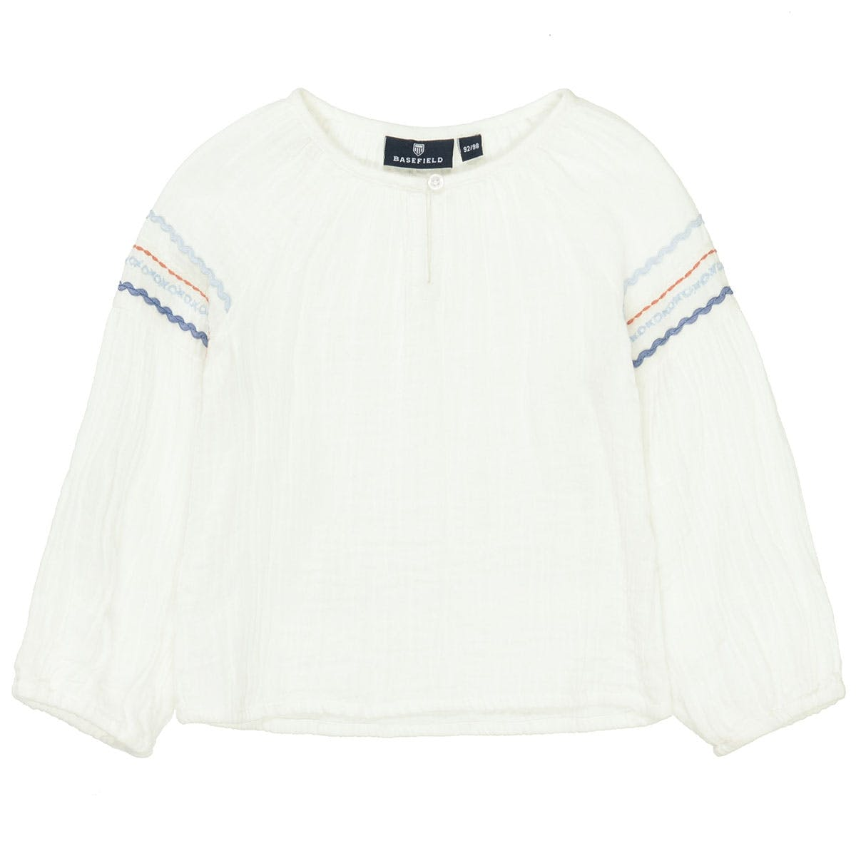 BASEFIELD Bluse - Offwhite